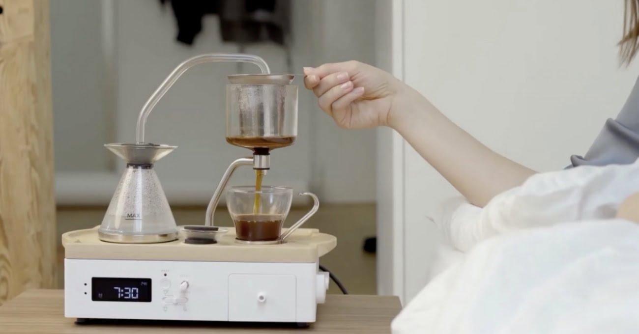 Çalar Saat İşlevli Otomatik Kahve ve Çay Makinesi: Barisieur 2.0