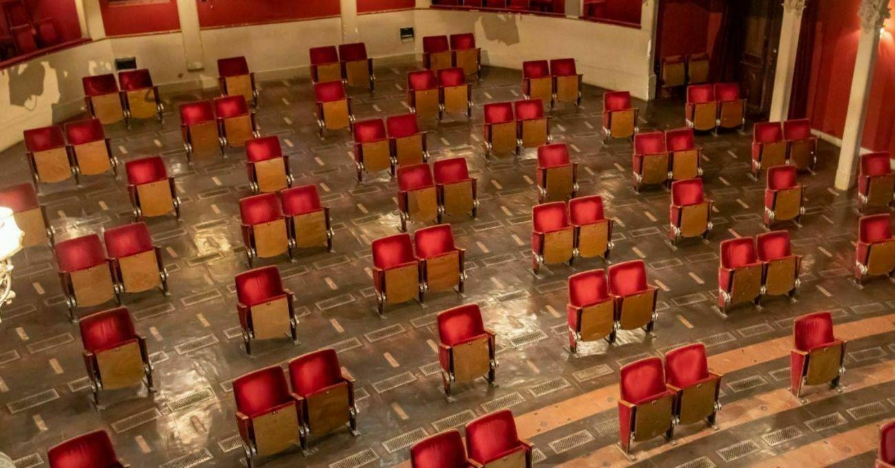 Berliner Ensemble Tiyatro Salonunu Yeni Normale Hazırlıyor