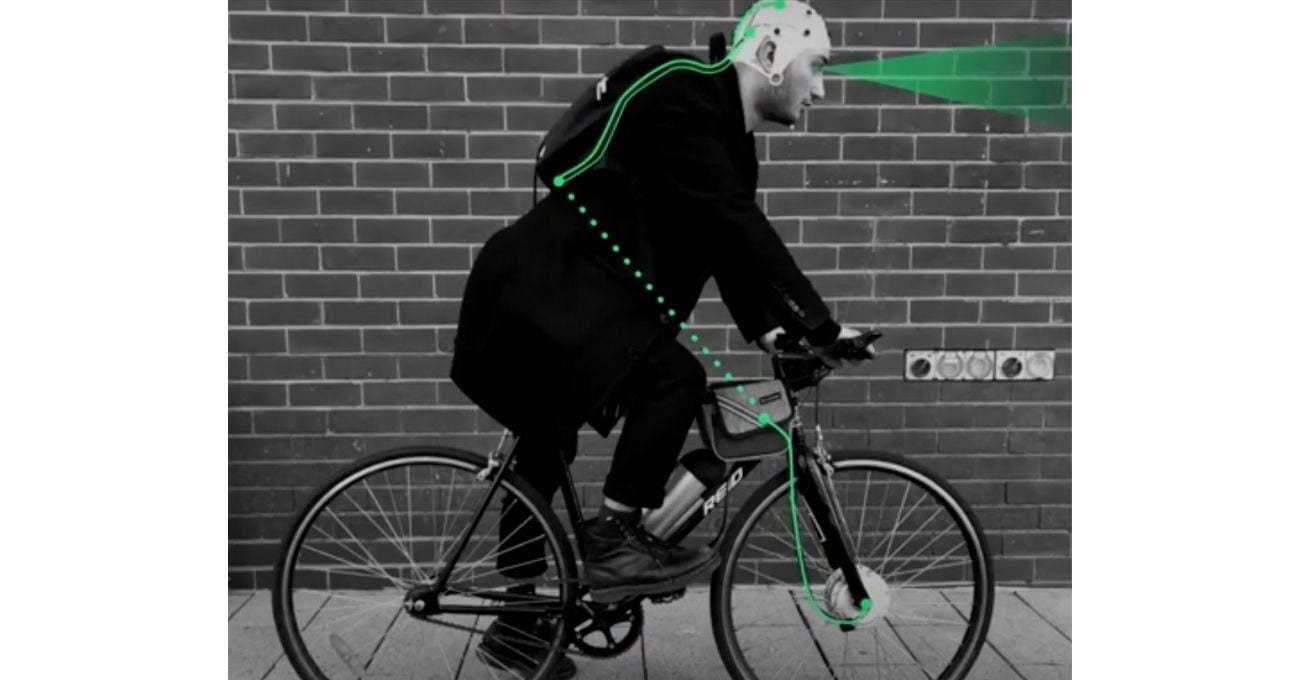 Beyindeki Tehdit Algılama Sistemiyle Bağlantılı Çalışan Elektrikli Bisiklet