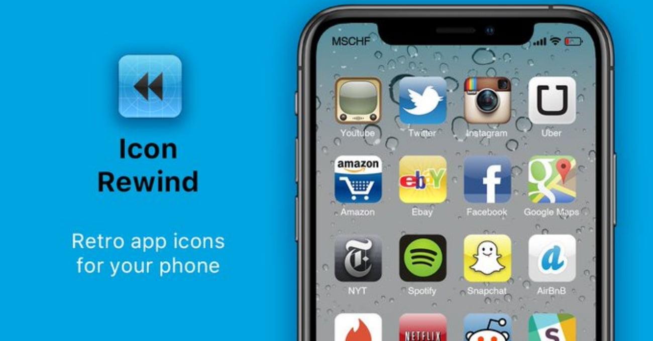 Mobil Uygulamaların İkonlarında Geçmişe Yolculuk: Icon Rewind
