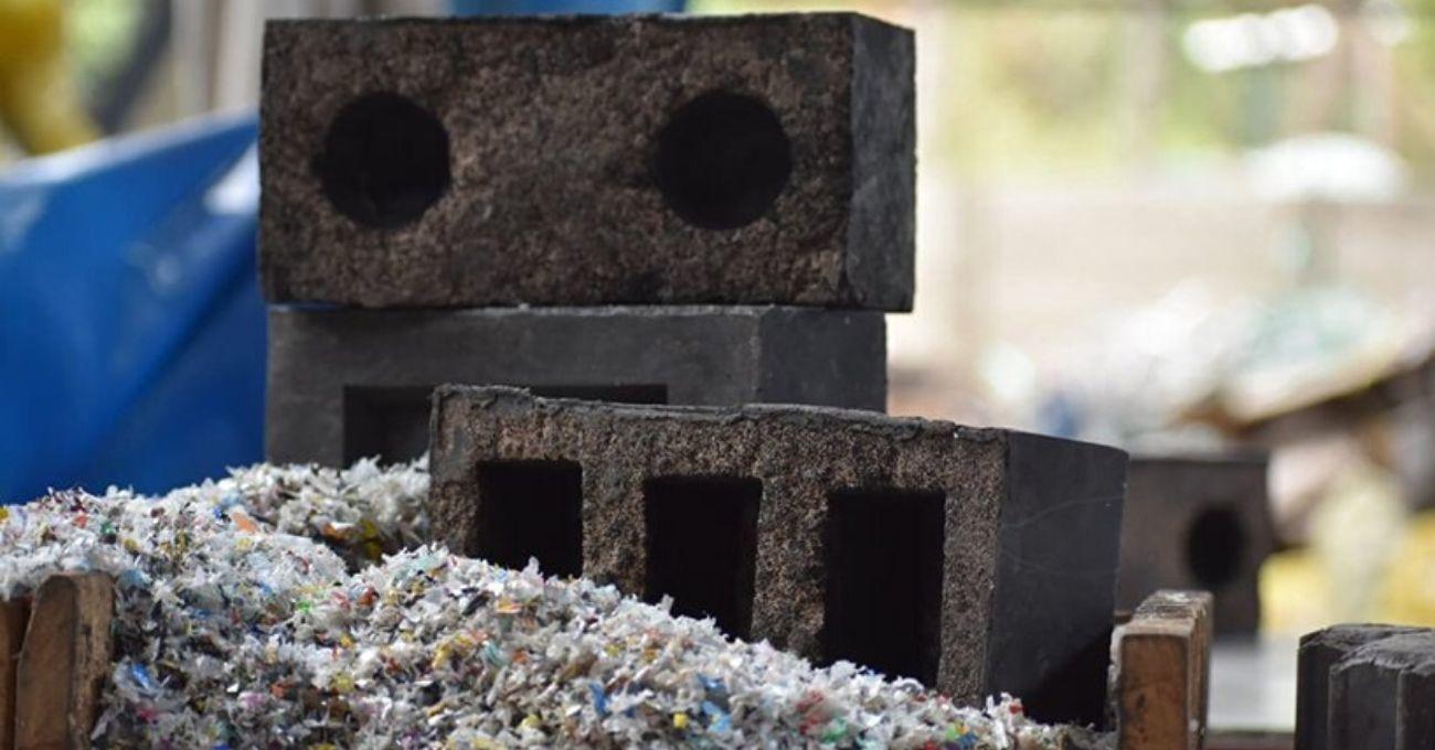 Plastik Atıklardan ve Atık Döküm Kumundan Yapılan Sürdürülebilir Tuğla