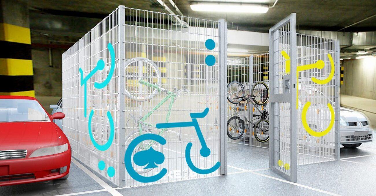 Otoparklar için Modüler Bisiklet Park Alanı