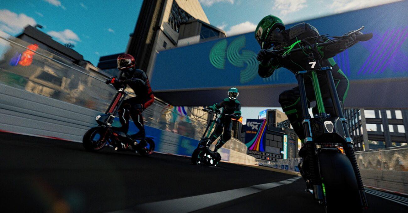 Saatte 100 Kilometre Hız ile Elektrikli Scooter Yarışı