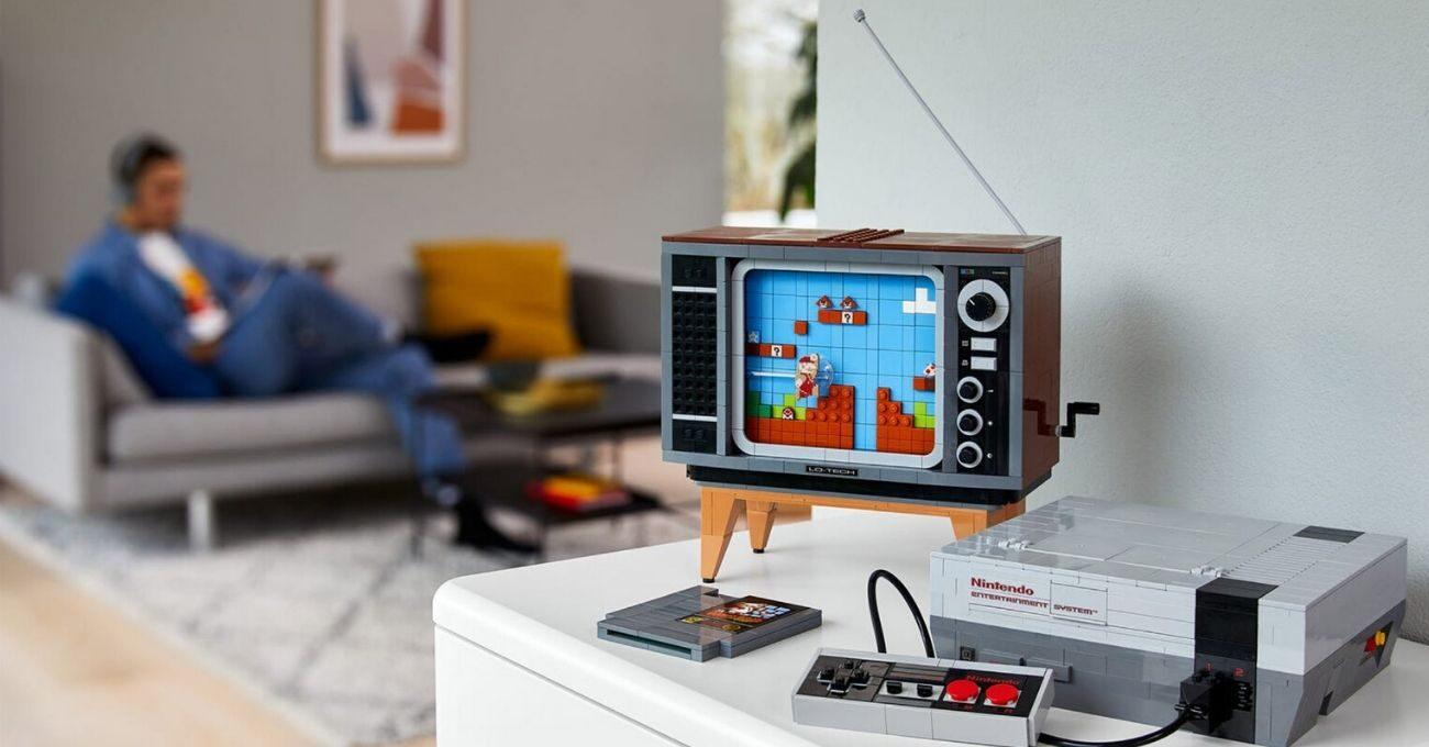 LEGO ve Nintendo İş Birliğiyle Nostaljik Set: LEGO Nintendo NES