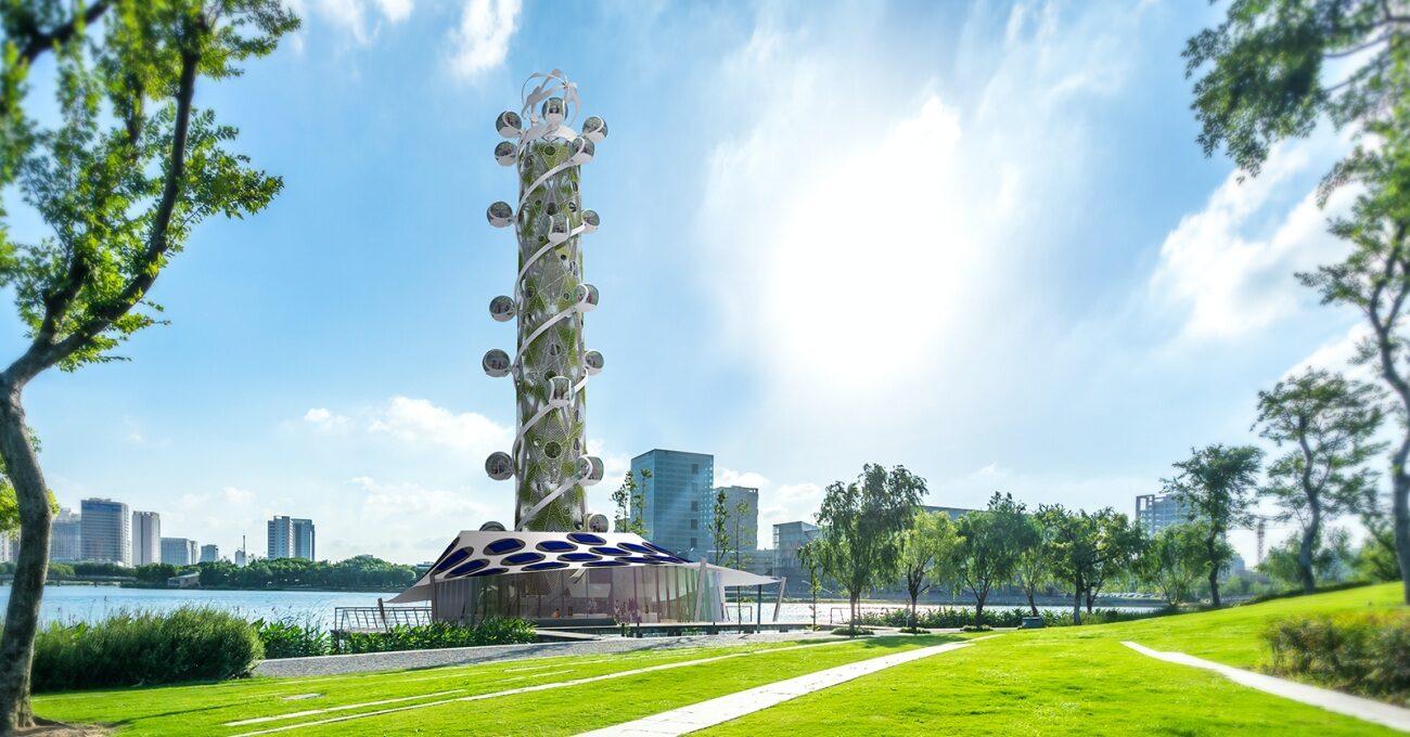 Sürdürülebilir Enerji Kaynaklı Çevre Dostu Kule: Spiral Tower