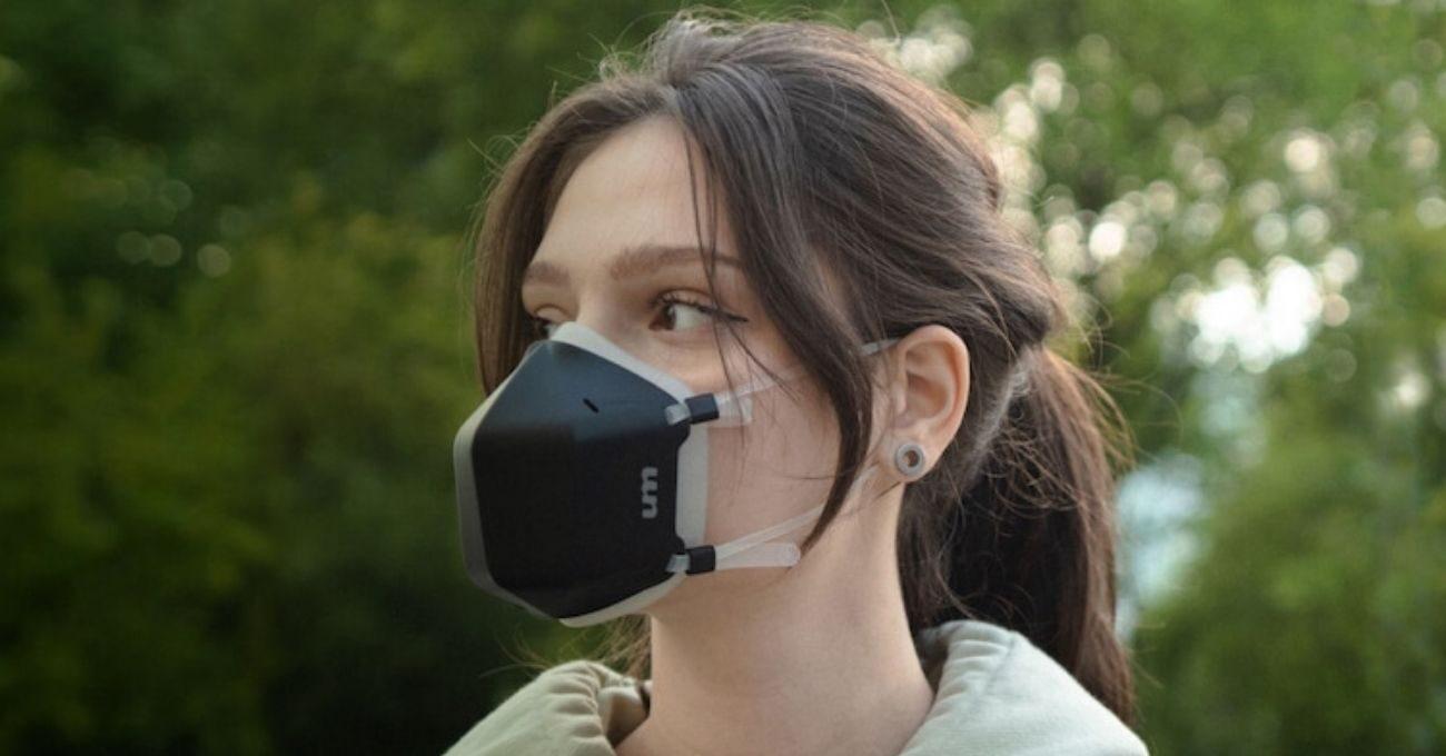 UV Işığıyla Havayı Temizleyen Maske