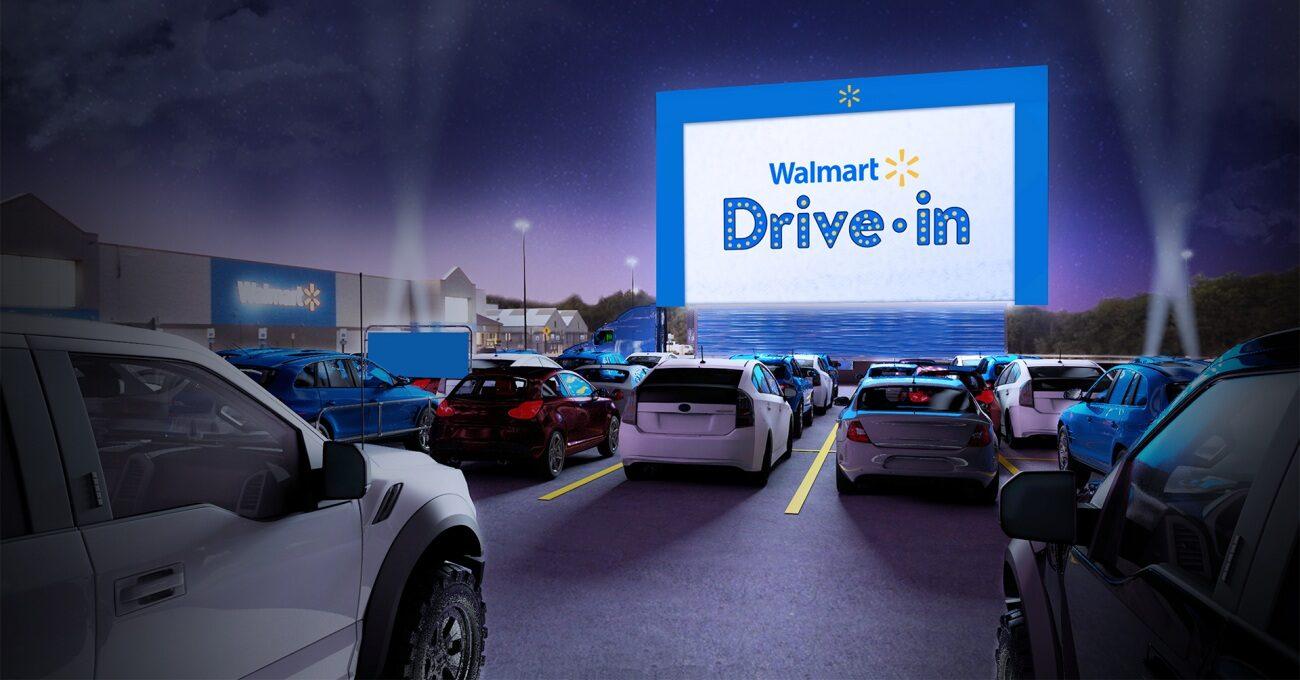 Walmart Şubelerinin Otoparkları Açık Hava Sinemasına Dönüşüyor