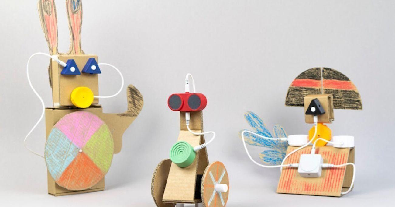 Çocuklar Animate ile Kendi Robotlarını Yapıyor
