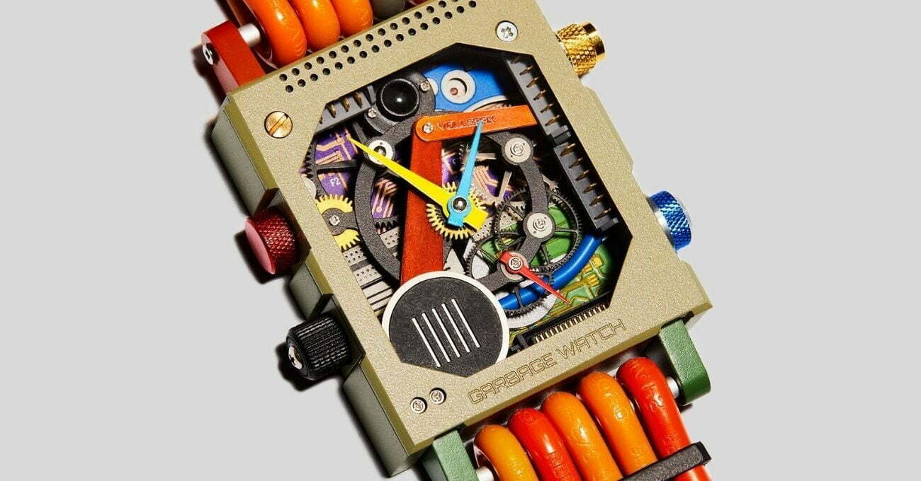 Elektronik Atıklar Saate Dönüşüyor