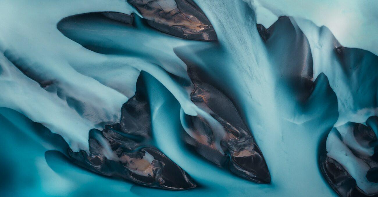 İzlanda'nın Soğuğuna Karışan Soyut Desenler
