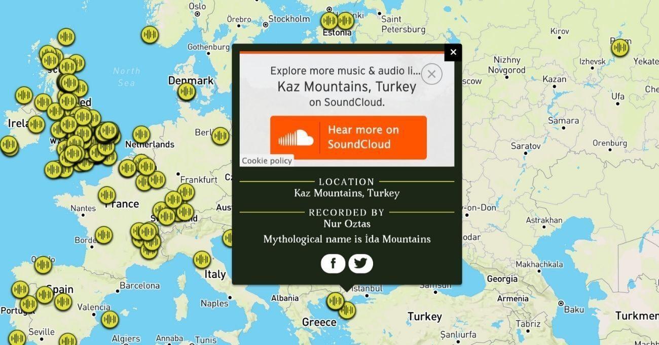 Ormanlardan Alınan Kayıtlar Ses Kütüphanesinde Toplanıyor