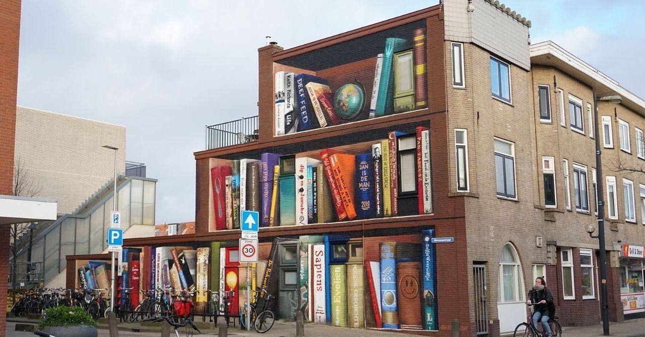 Dev Kitaplık Muralları