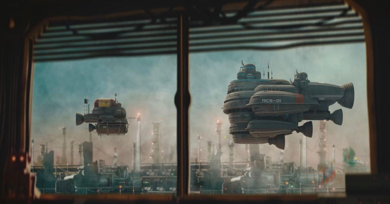 İki Uzay Gemisinin Absürt Diyalogları
