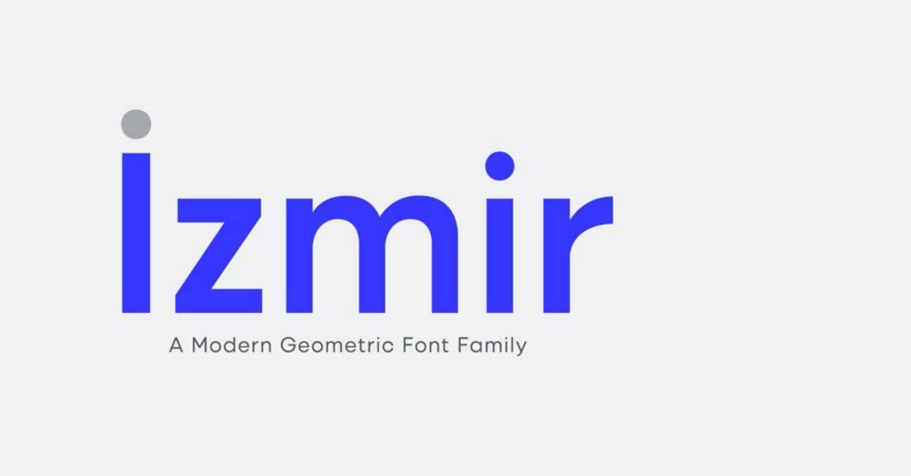 İzmir'e Özel Font