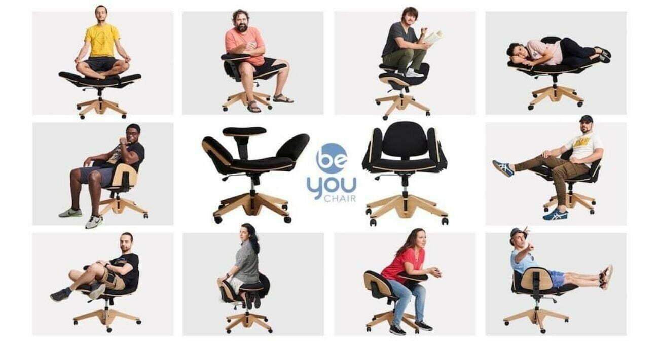 Her Pozisyona Uyum Sağlayabilen Ofis Sandalyesi