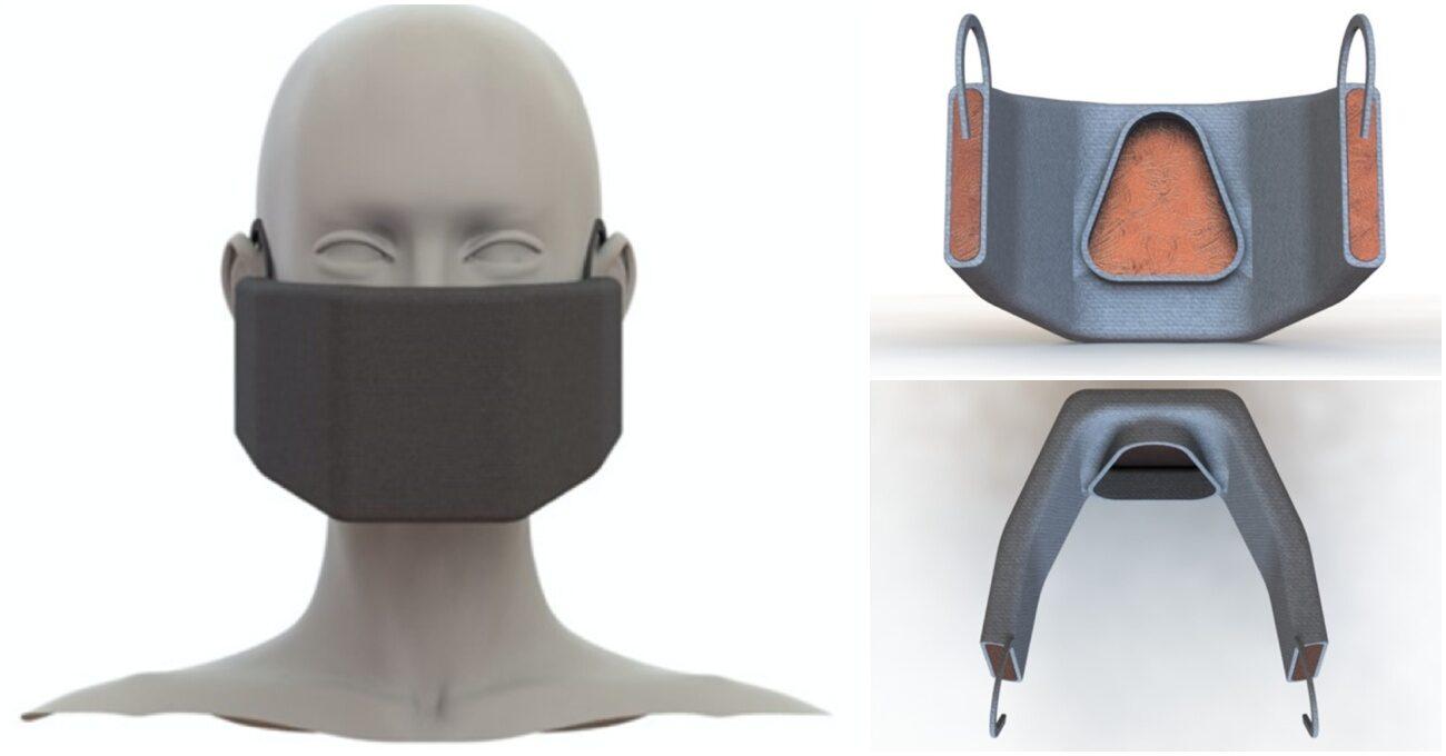 Virüsleri Isı Kullanarak Etkisiz Hale Getiren Maske