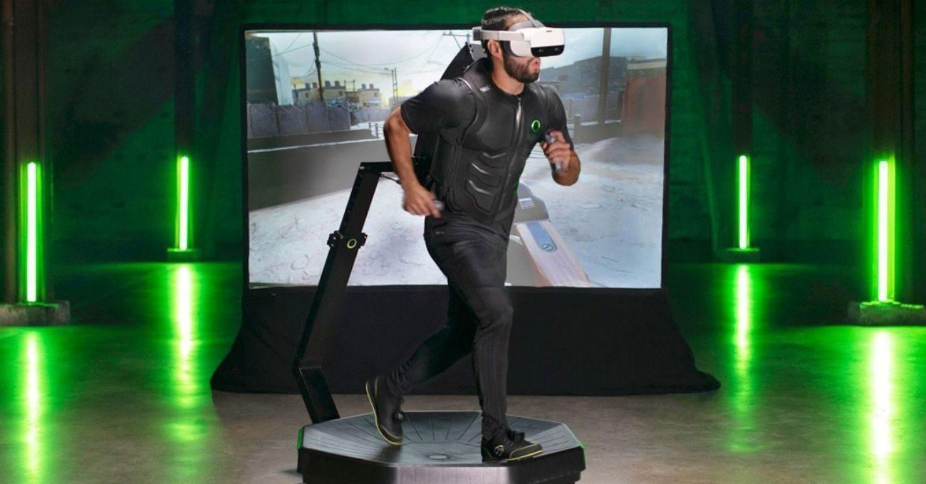 360 Derece Koşu Bandı Üzerinde Oyun Oynarken Egzersiz Yapmak