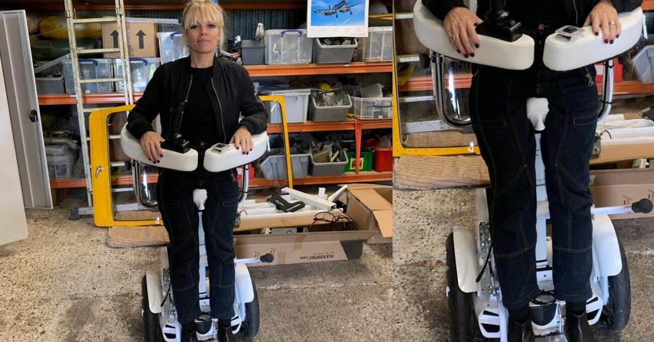 Kullanıcıyı Ayakta Tutabilen Tekerlekli Sandalye