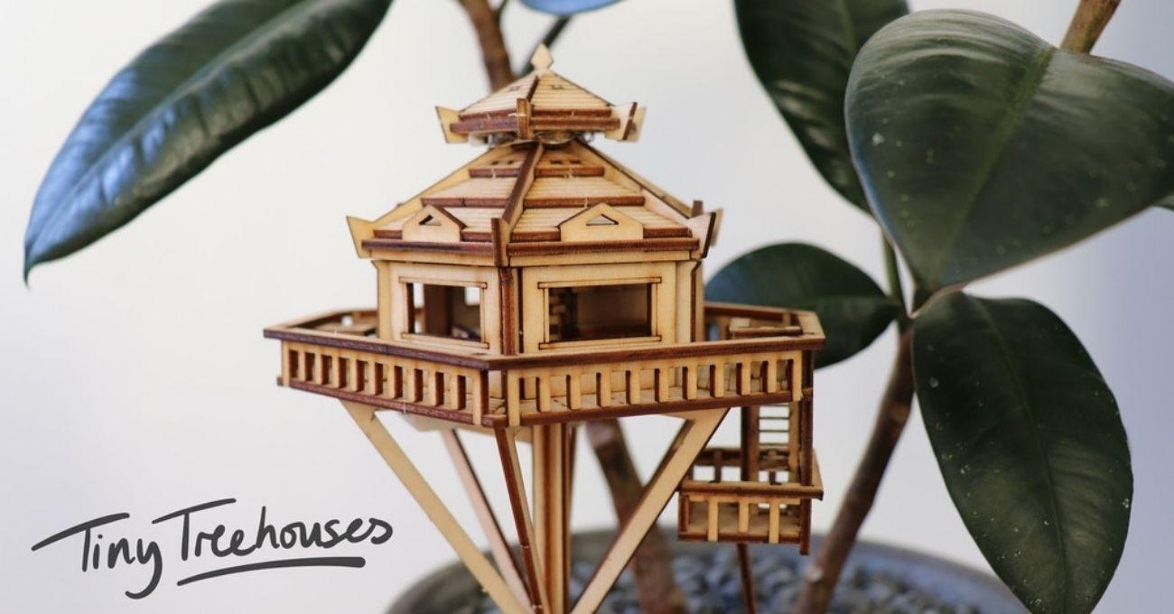 Minyatür Ağaç Evleri
