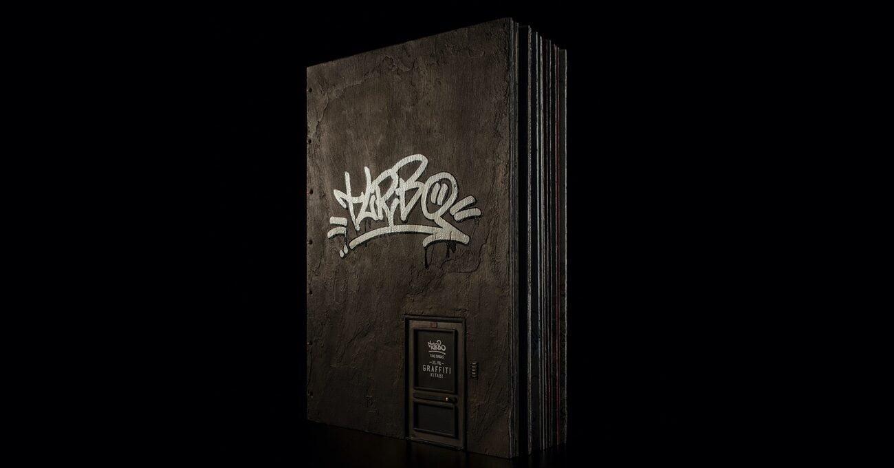 Duvardan Sayfalarıyla Graffiti Kitabı