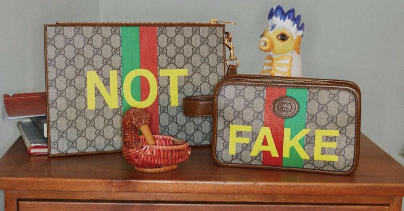 Gucci Kendi Taklit Koleksiyonunu Yaptı