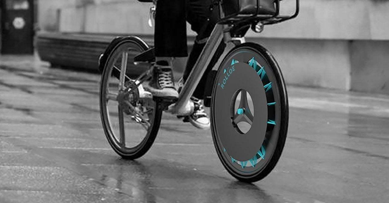 Havayı Temizleyen Bisiklet Tekeri: ROLLOE