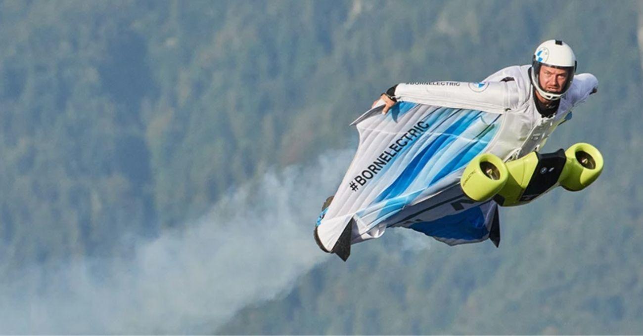 Electrified Wingsuit