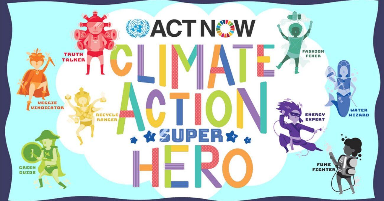 Çocuklarla Birlikte Dünyayı Kurtaracak Sekiz Süper Kahraman