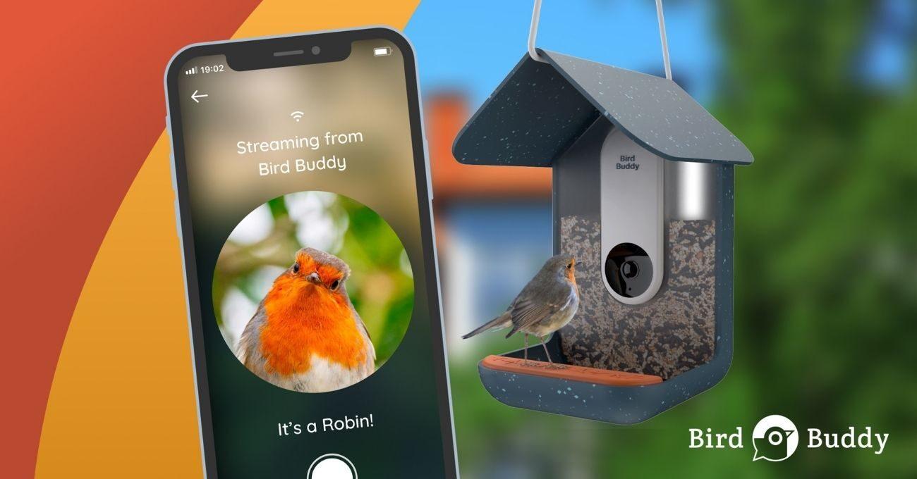 Akıllı Teknolojiyle Donatılmış Kuş Besleyici