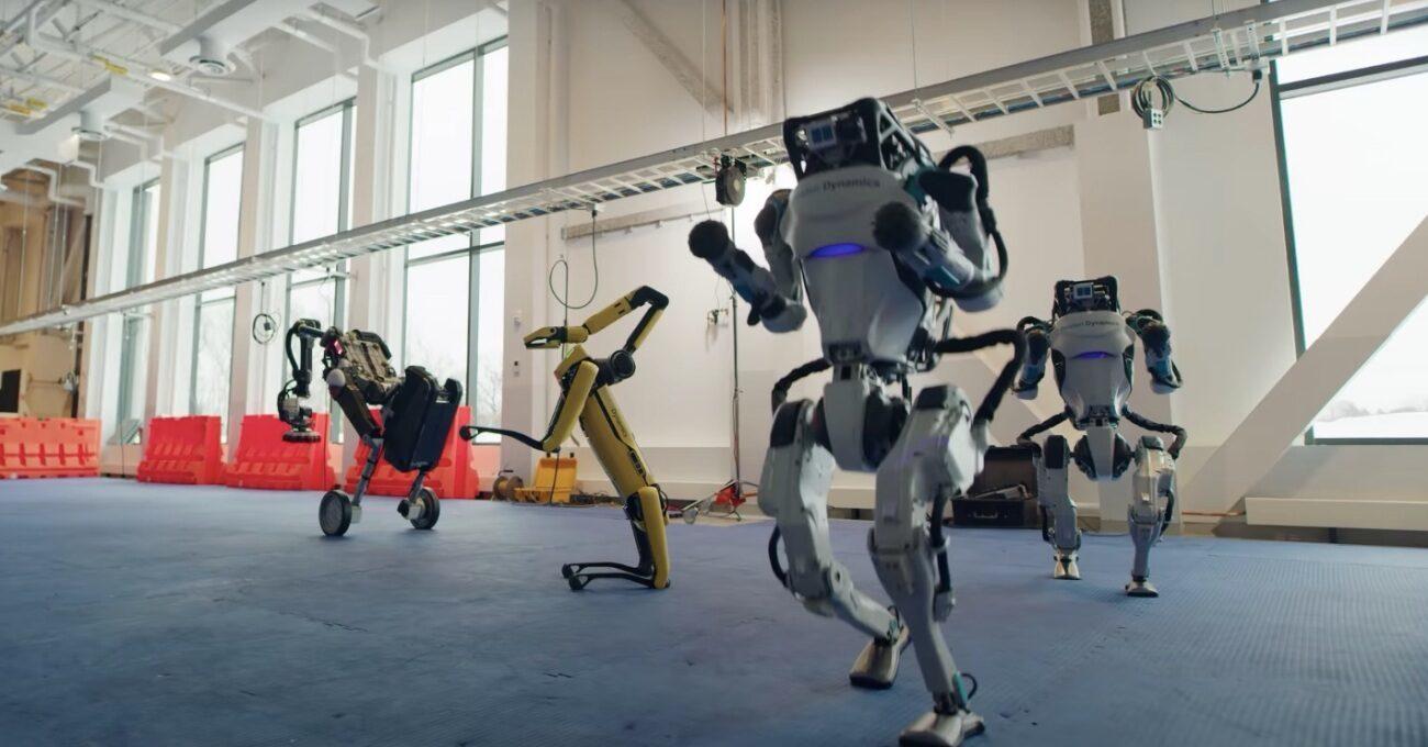Boston Dynamics Robotlarının Dans Hünerleri