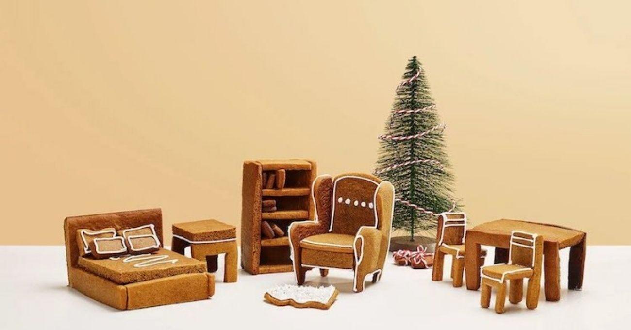 Geleneksel Zencefilli Kurabiye Evlere Modern IKEA Mobilyaları
