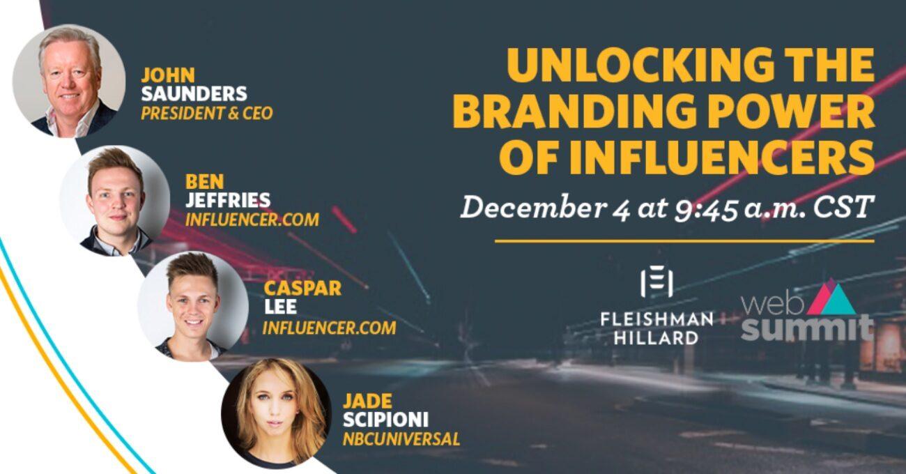 Influencer'lar Markaların Merceği Altında [Web Summit 2020]