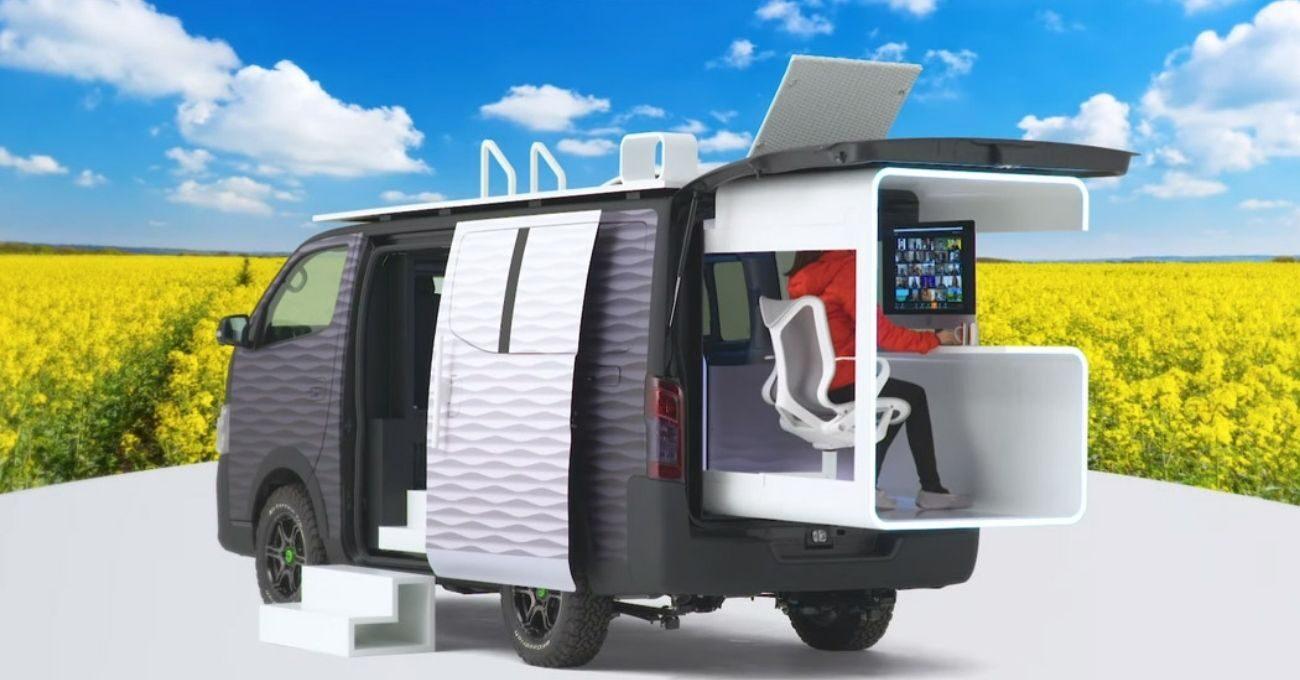 Nissan'dan Karavan Ofis