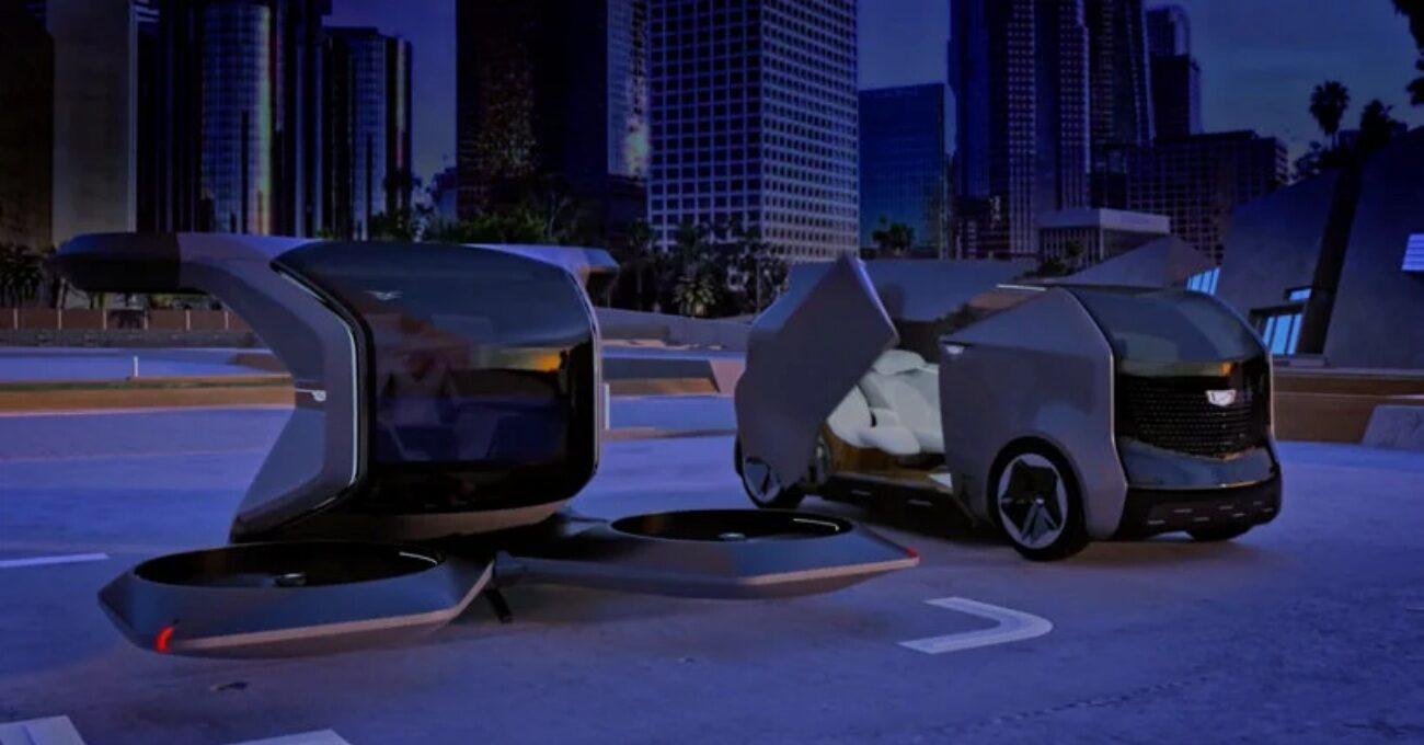 General Motors'dan Uçan Taksi ve Otonom Araç