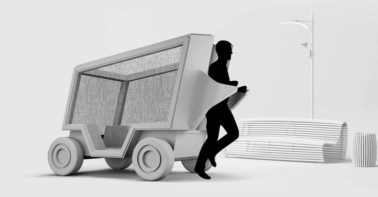 Elektrikli Atık Taşıma Aracı