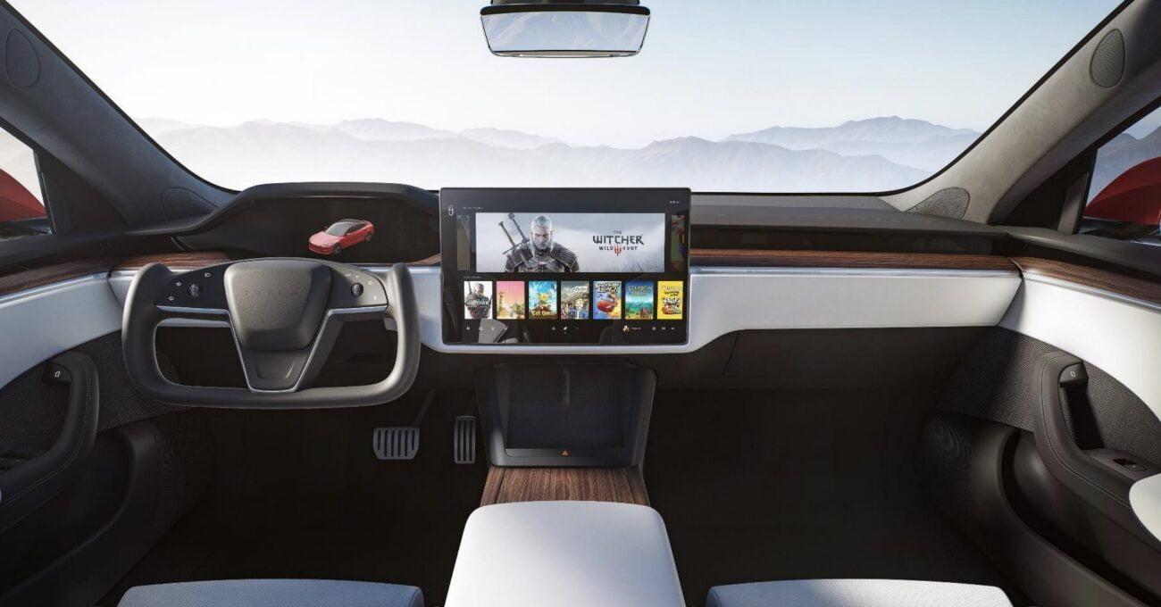 Fütüristik İç Tasarımı ve Yüksek Performansıyla Tesla Model S
