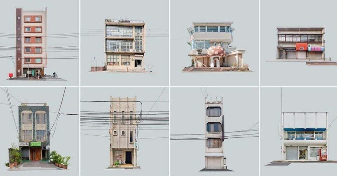 Kentlerden Kesilip Çıkarılmış Binalar