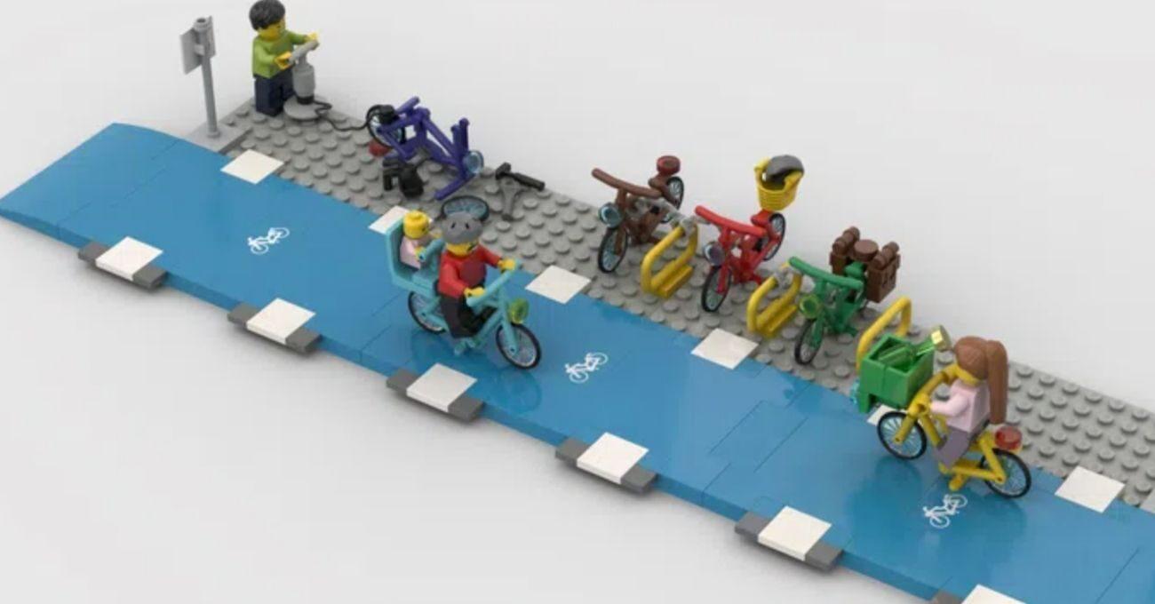 LEGO Bisiklet Yolu