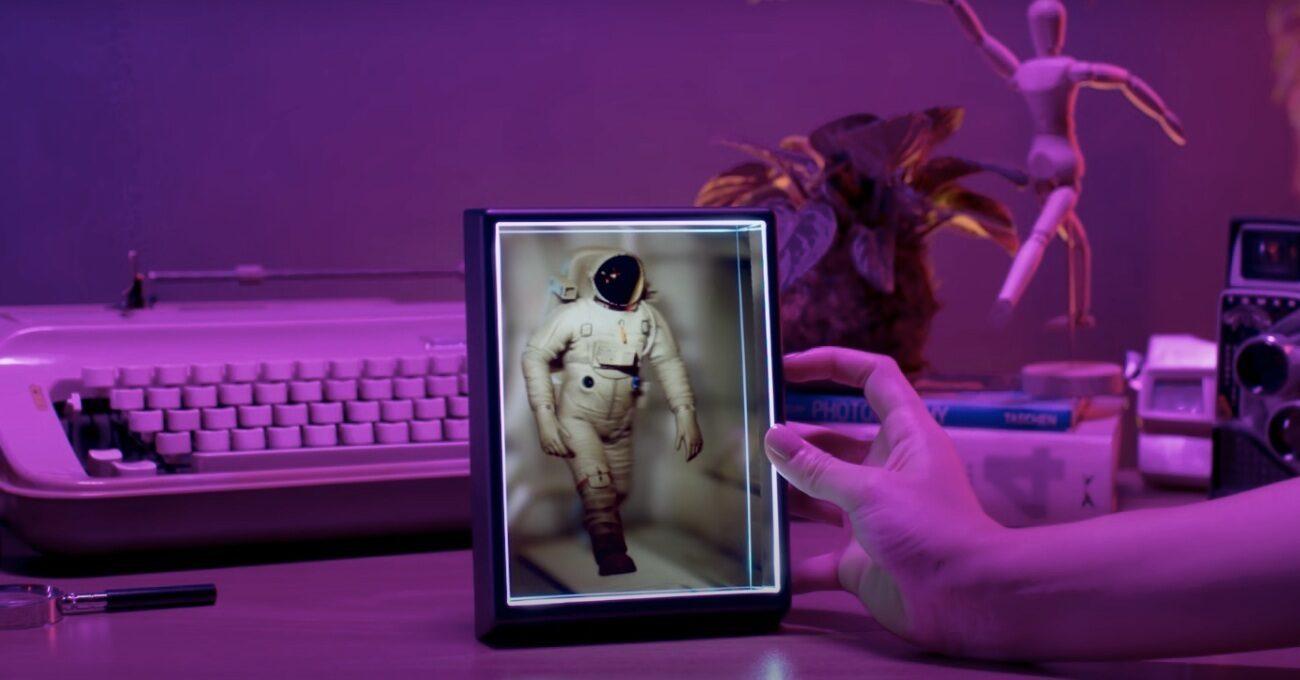 Looking Glass Portrait Fotoğrafları Holograma Dönüştürüyor