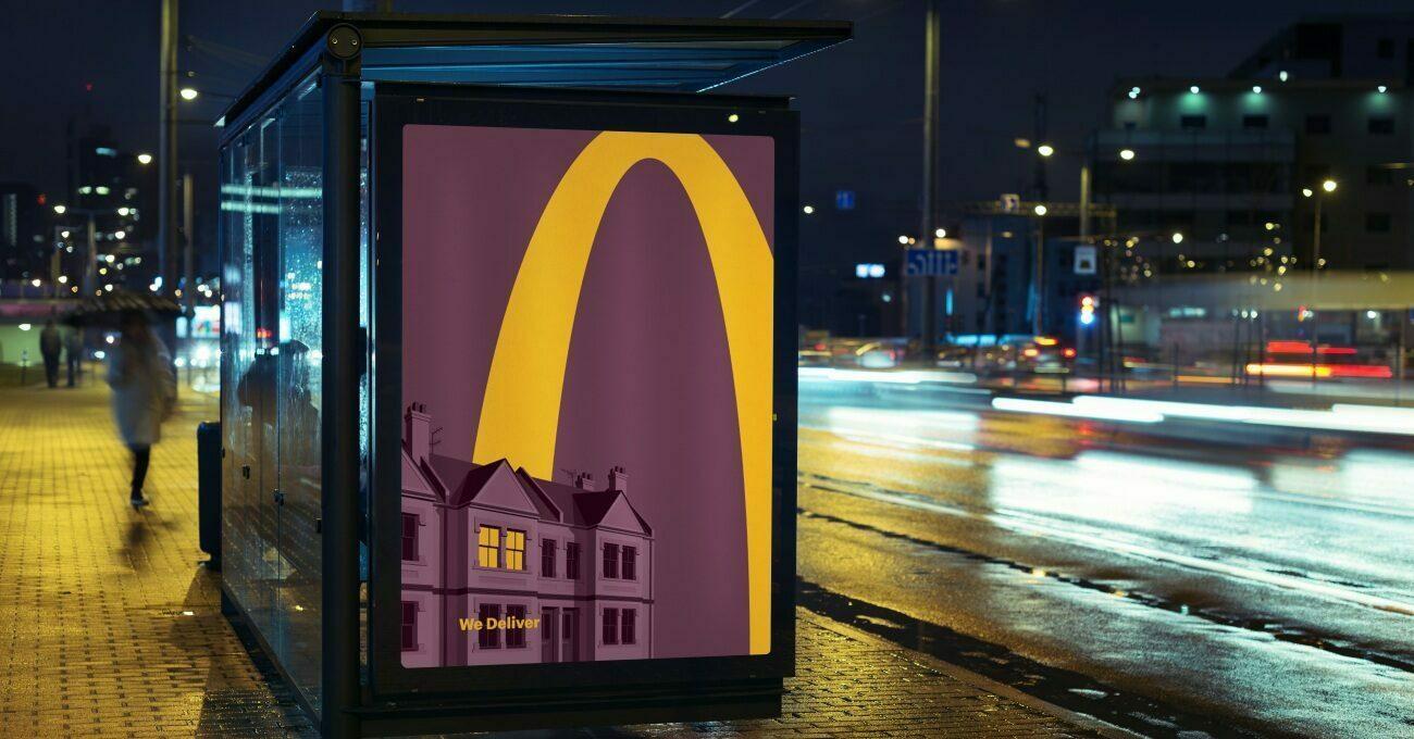 McDonald's'ın Logosu Evlere Işık Saçıyor