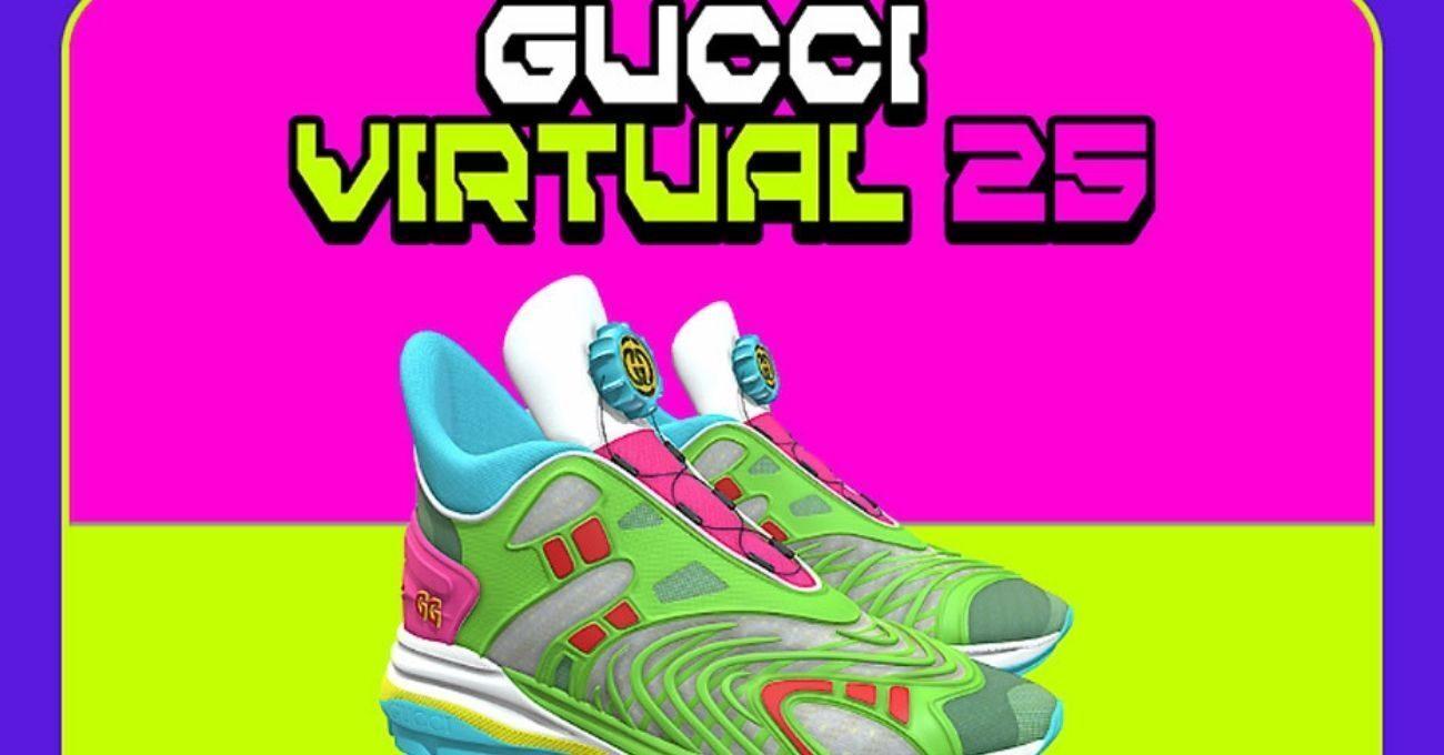 Gucci Artırılmış Gerçeklikte Giyilebilen Spor Ayakkabı Tasarladı