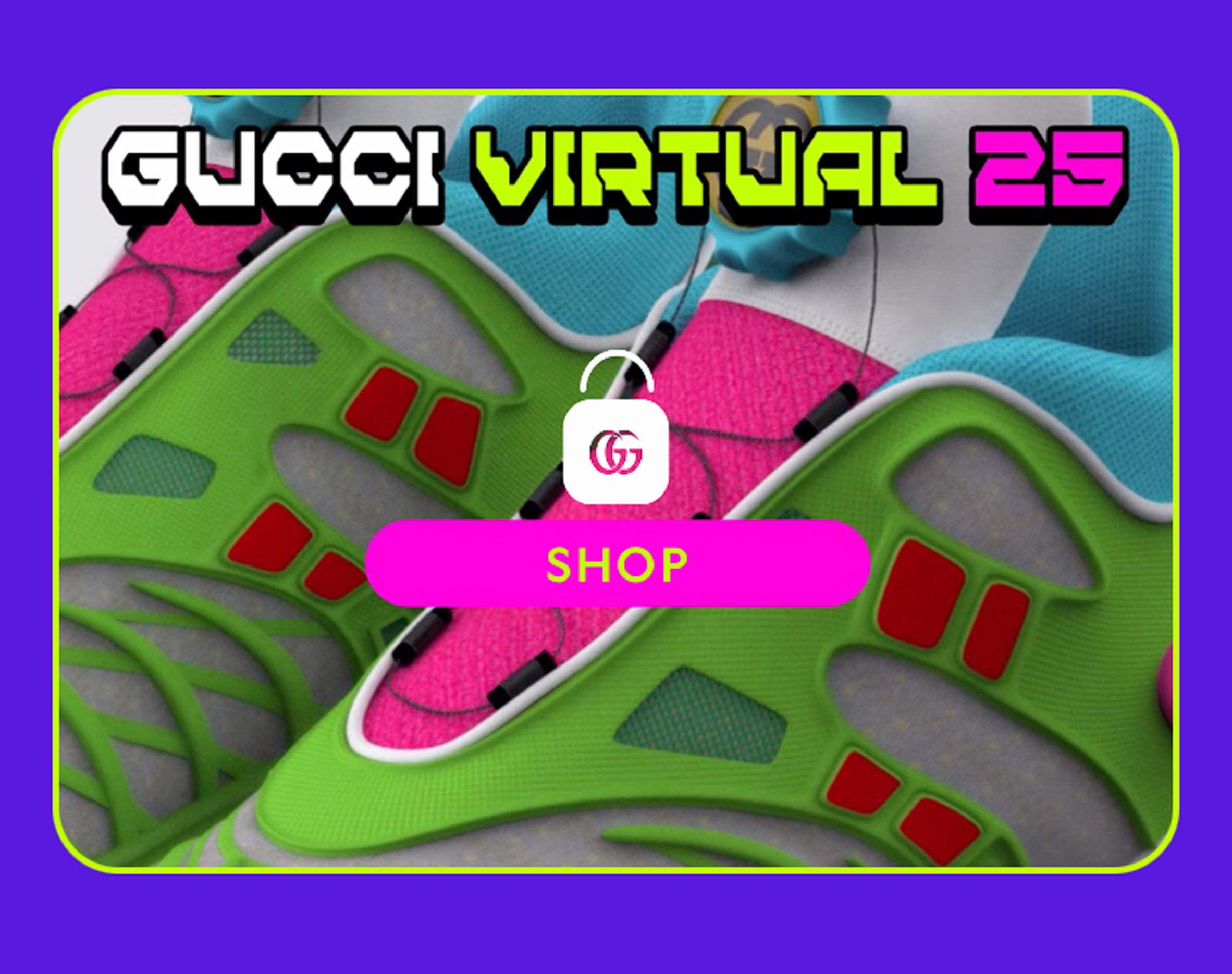 Gucci Virtual 25
