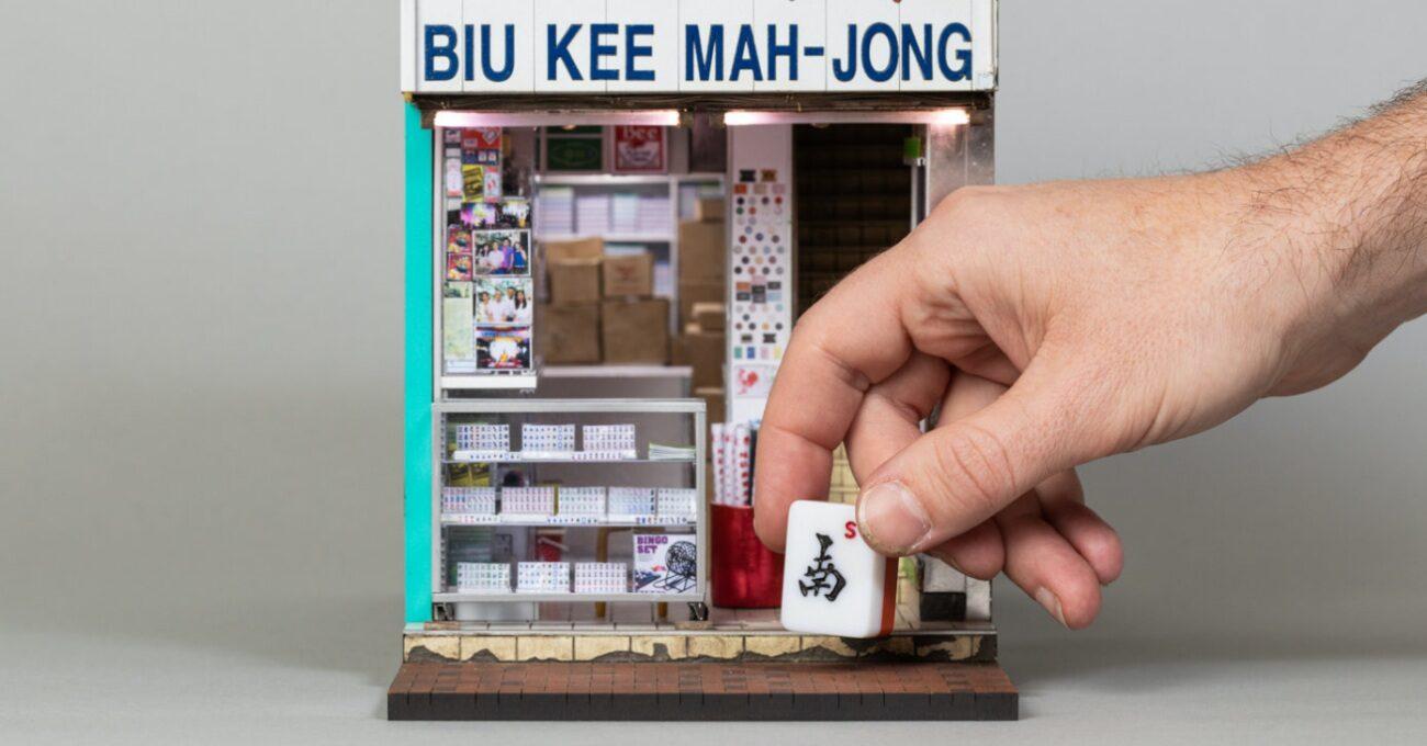 Minicik Bir Mahjong Dükkanı