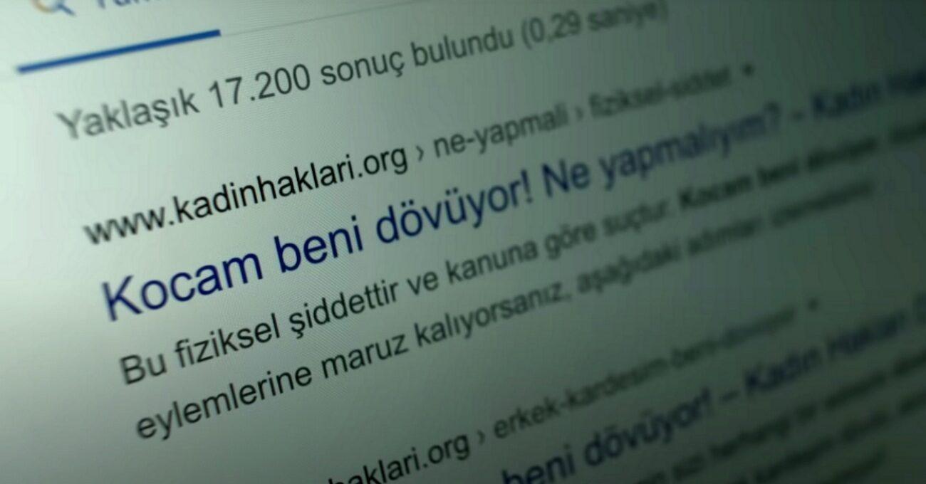 Kadınlar Haklarını Google'da Arıyor