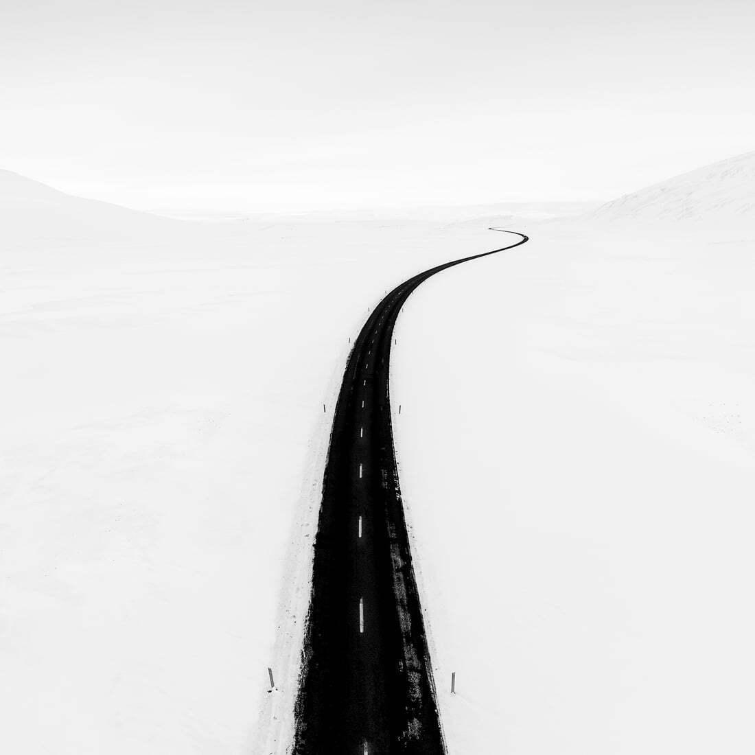 siyah beyaz minimalist