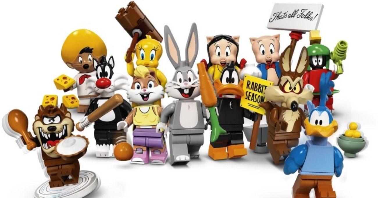 LEGO'dan Looney Tunes Mini Figürleri