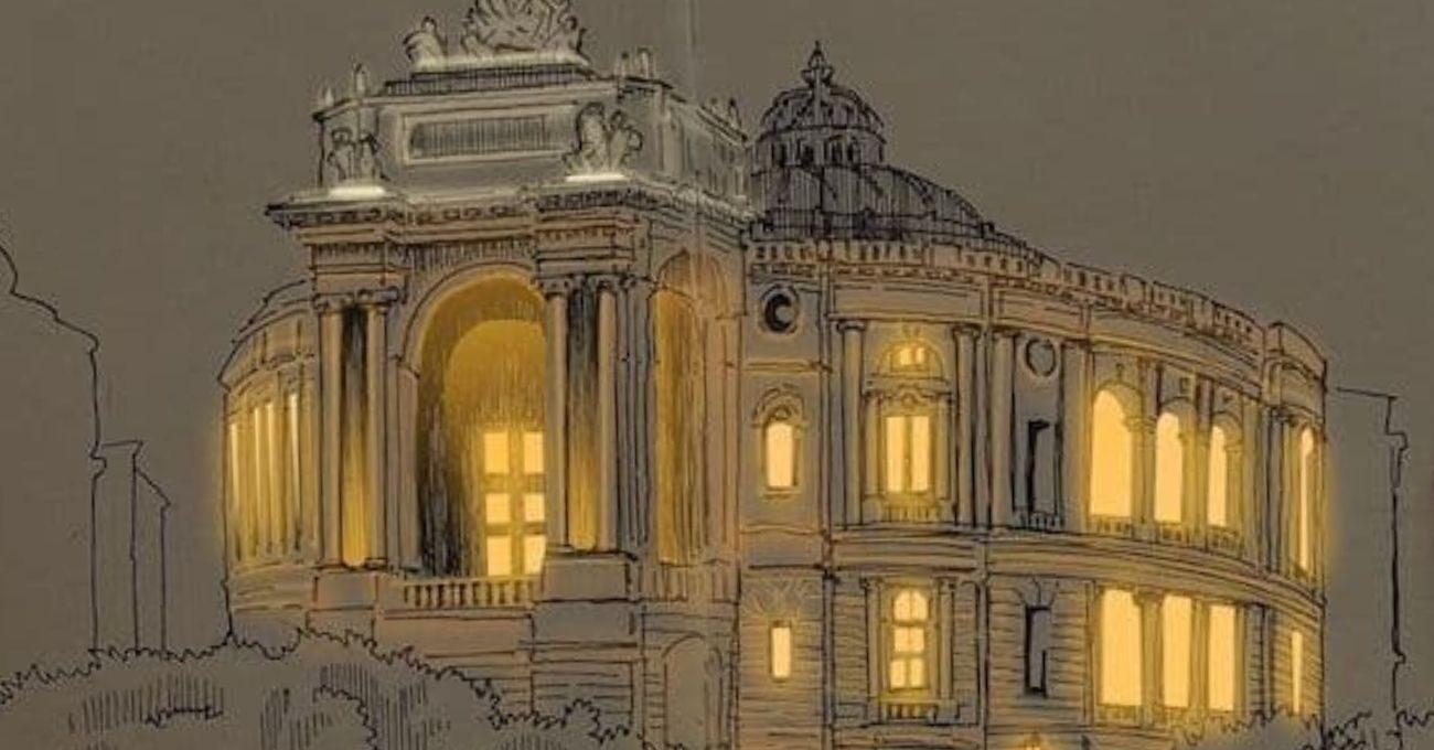Gerçek Işıkla Aydınlatılmış Gibi Görünen Mimari Çizimler