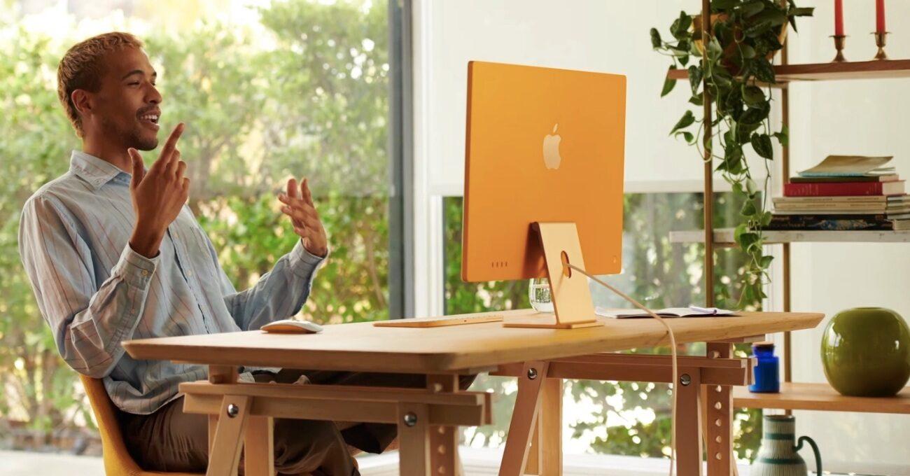 7 Renk Seçeneği ile M1 İşlemcili iMac
