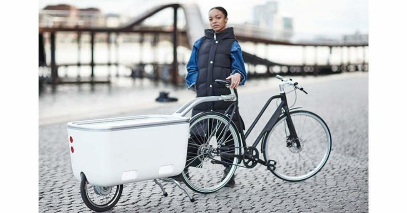 Bisiklet İçin Motorlu Römork