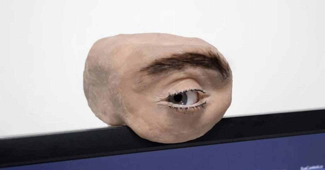 İnsan Gözü Gibi Görünen ve Davranan Kamera